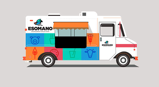 Concept for EsoMano Food Truck