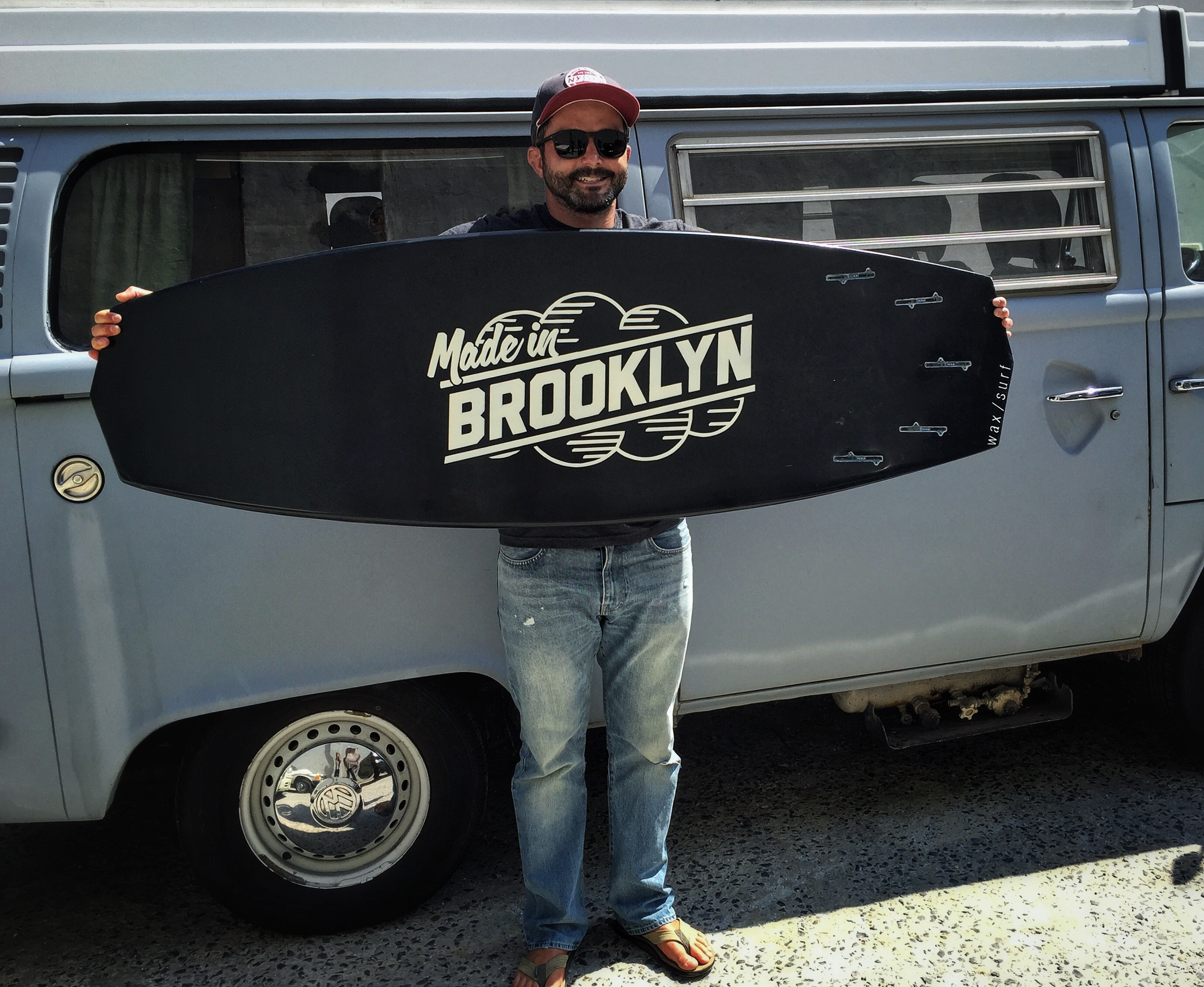 Made in Brooklyn Deck Graphic
