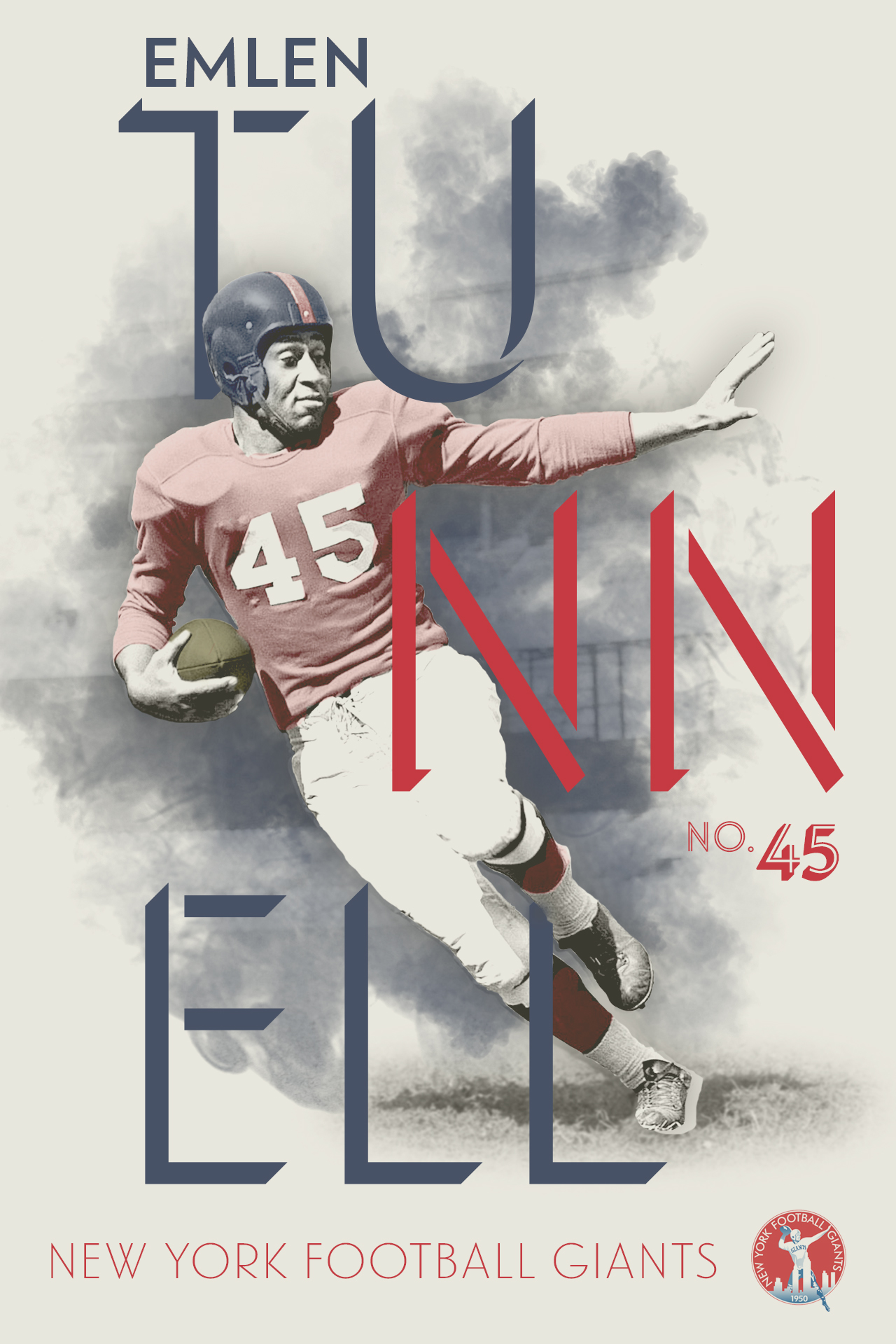 Emlen Tunnell Graphic